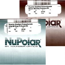 Линзы полимер 1.59 NuPolar Gradient Polycarbonate