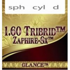 Линзы полимер GLANCE 1.60 TRIBRID ZAPHIRE-SX